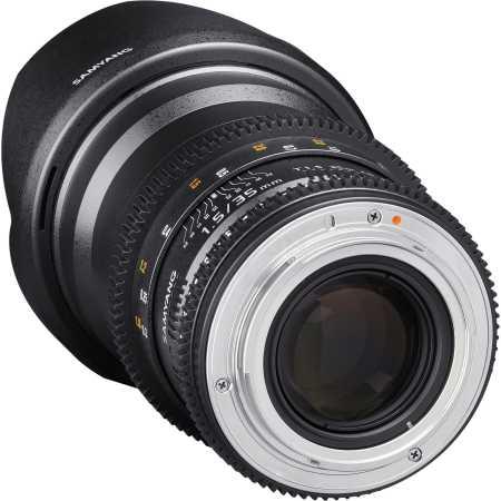 SAMYANG MF 35mm T1.5 ED AS UMC VDSLR II Sony E