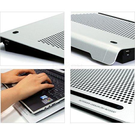 Теплоотводящая подставка под ноутбук Zalman ZM-NC2000 1500об./мин