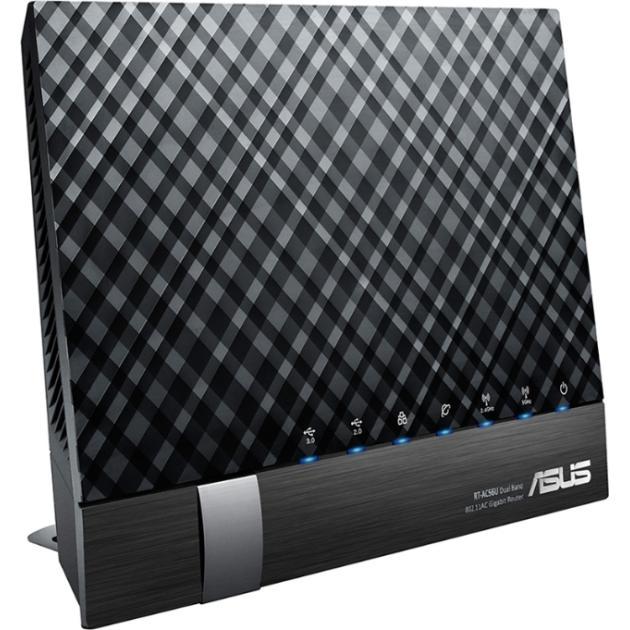 ASUS DSL-AC56U Черный, 1167Мбит/с, 5, 2.4