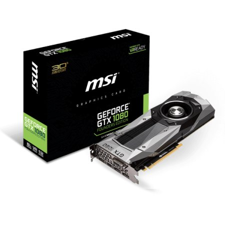 MSI GTX 1080 FOUNDERS EDITION