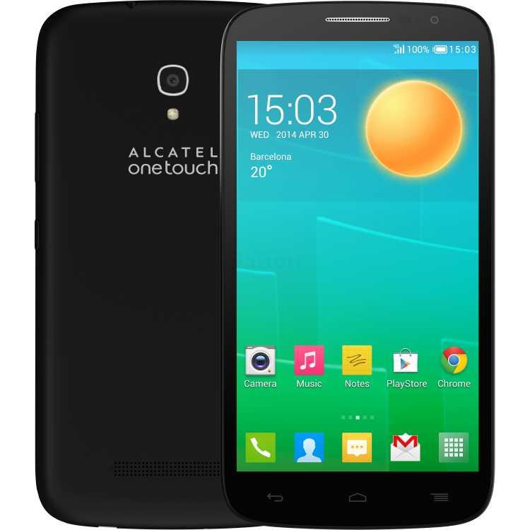 Alcatel OT 7050Y POP S9 Черный, 3G