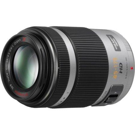 Panasonic Lumix H-PS45175 Телеобъектив, Micro 4/3, Совместимость с полнокадровыми фотоаппаратами