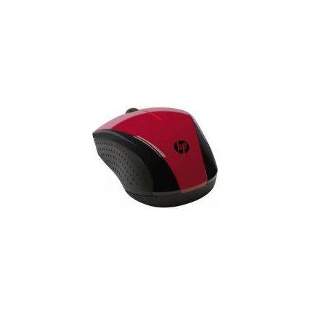 HP Wireless Mouse X3000 Cobalt Blue Синий, USB Красный Красный, USB