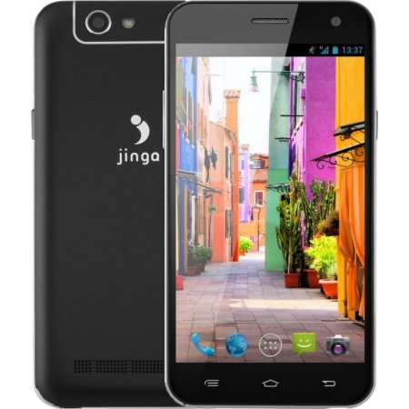Jinga Basco M500 Черный, 8Гб, 2 SIM, 4G (LTE), 3G