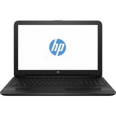 "HP 15-ay063ur X5Y60EA 15.6"", Intel Core i3, 2000МГц, 4Гб RAM, DVD нет, 500Гб, Черный, Wi-Fi, Windows 10, Bluetooth"