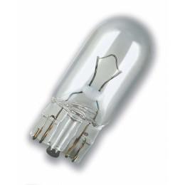 Лампа накаливания OSRAM W5W Original 12V 5W, 2шт.,2825-02B