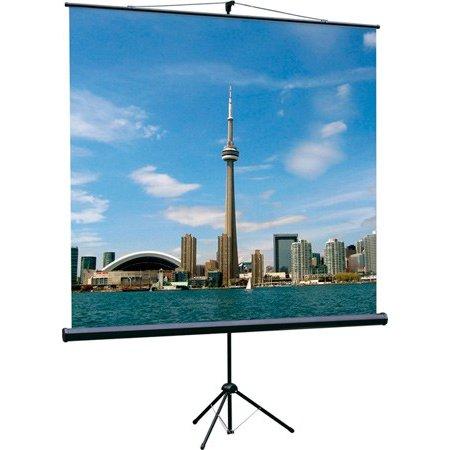 Экран на треноге Lumien 200x200см Eco View LEV-100103 1:1 напольный рулонный