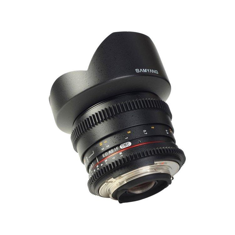 SAMYANG MF 14mm T3.1 ED AS IF UMC VDSLR Sony A