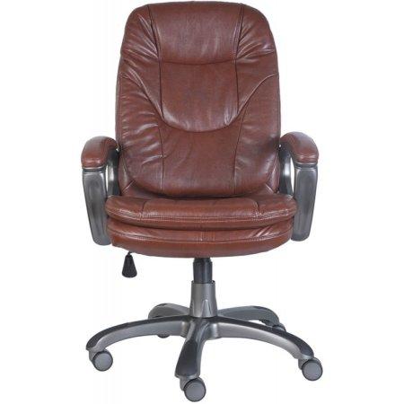 Кресло руководителя Бюрократ CH-868AXSN/Brown коричневый искусственная кожа пластик темно-серый