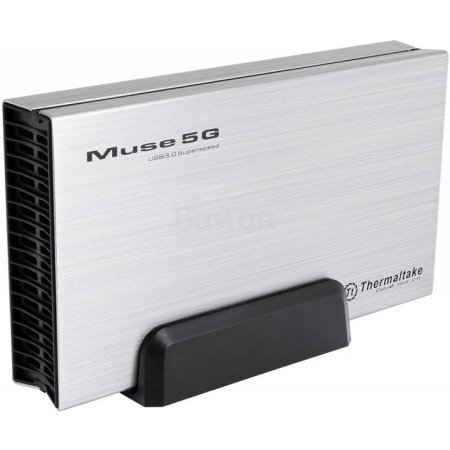 "Внешний корпус для HDD Thermaltake Muse 5G ST0042Е SATA III пластик/алюминий серебристый 3.5"""