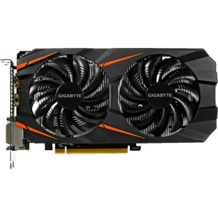 Gigabyte GeForce GTX 1060 WINDFORCE OC 6G 6144Мб, GDDR5, 1582MHz, GV-N1060WF2OC-6GD GTX 1060 WINDFORCE OC 6G - 6144Мб, GDDR5, 1582MHz, GV-N1060WF2OC-6GD