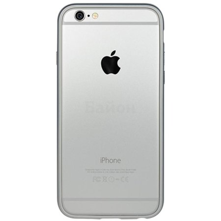 Power Support Arc PYC-50AJ для Apple iPhone 6 серебристый