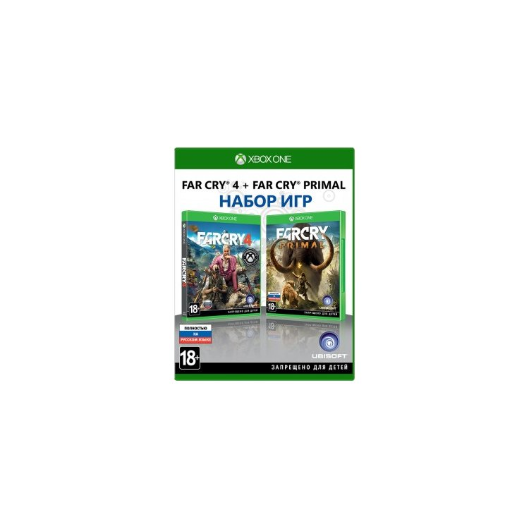 Комплект: Far Cry 4 + Far Cry Primal Xbox One, стандартное издание