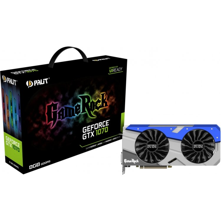 Купить Palit GeForce GTX 1070 JetSteam в интернет магазине бытовой техники и электроники
