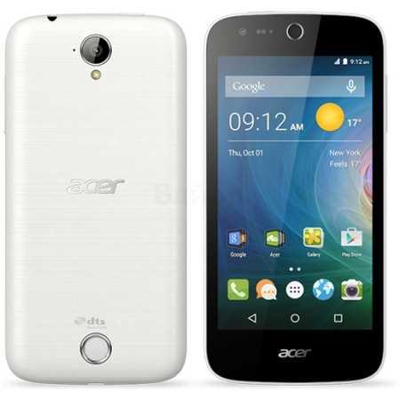 Acer Liquid Z330 8Гб, Белый, Dual SIM, 4G (LTE), 3G