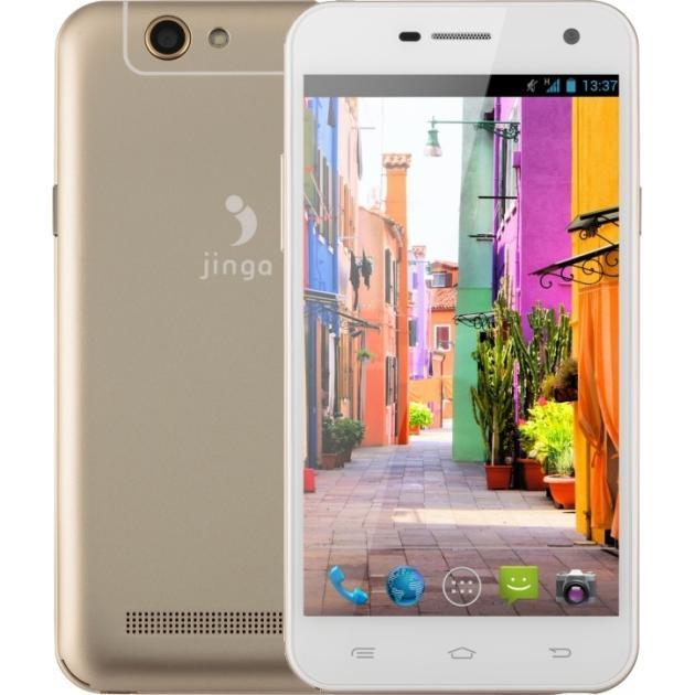 Jinga Basco M500 Золотой, 8Гб, 2 SIM, 4G LTE, 3G Золотой, 4G (LTE)