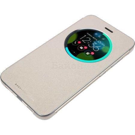 Asus для Asus ZenFone ZE552KL View Flip чехол-конверт, поликарбонат, Золотой