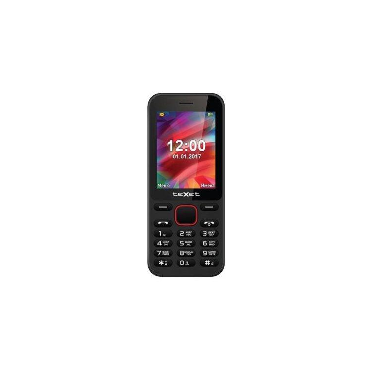 TeXet TM-215 Black, 0.032Гб, 2 SIM