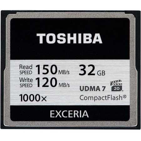 Toshiba Exceria CF-32GB CompactFlash, без класса, 32Гб