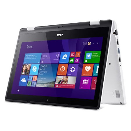 "Acer Aspire R3-131T-P393 11.6"", Intel Pentium, 1600МГц, 4Гб RAM, DVD нет, 500Гб, Белый, Wi-Fi, Windows 10 Домашняя, Bluetooth"