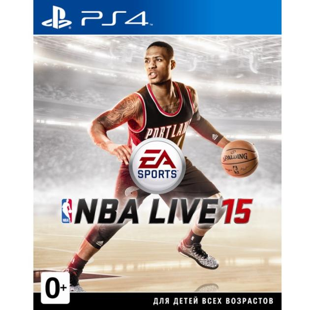NBA Live 15 PS4, русская документация Русский язык, Sony PlayStation 4, спорт