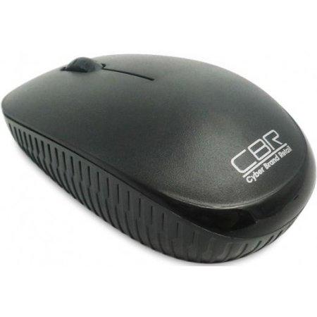 Компьютерная мышь CBR проводная оптическая CM414 Black Черный, Радиоканал, USB