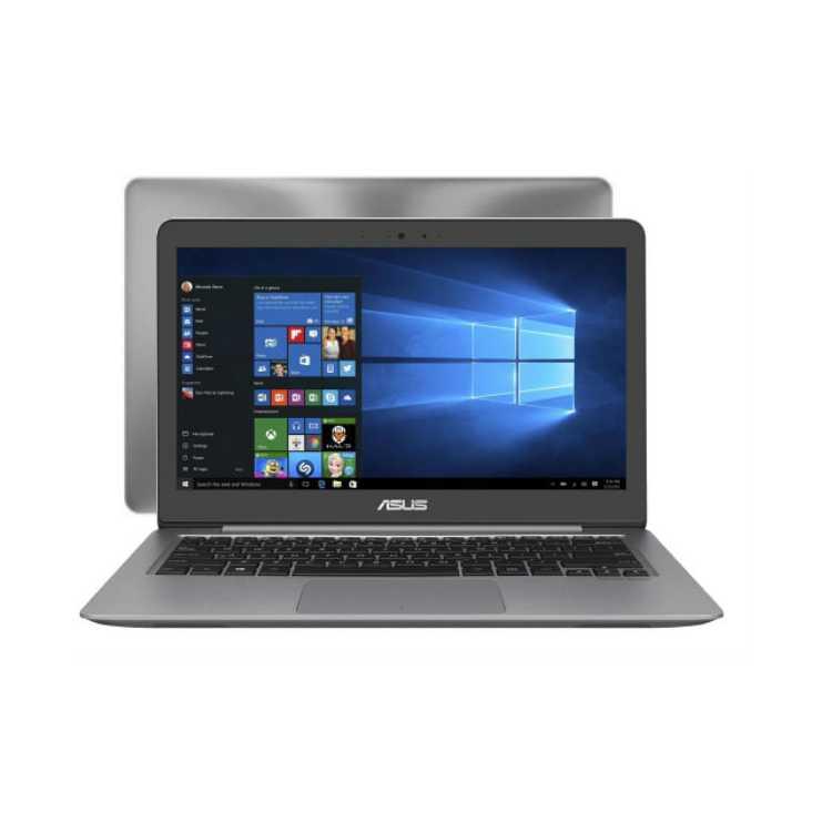 """ASUS Zenbook Pro UX310UA-FB408T 13.3"""", Intel Core i3 7100U, 4Гб, 500Гб, noDVD, Bluetooth, WiFi, Серый, Windows 10 Домашняя"""