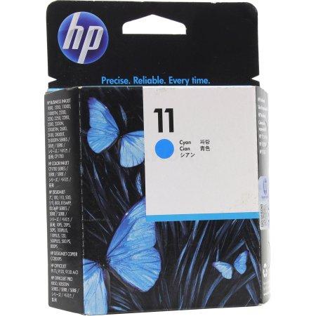 HP C4811A Голубой, Картридж струйный, Стандартная, нет