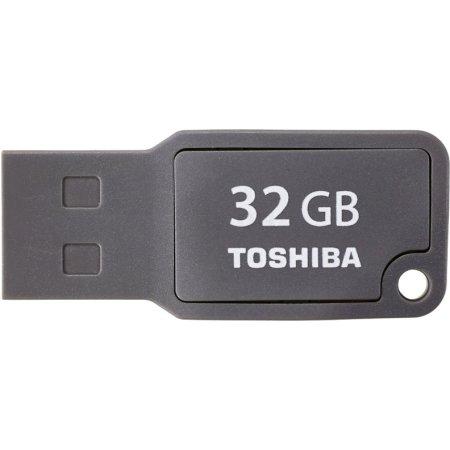 Toshiba U201 Mikawa gray USB 2.0 32Gb 32Гб, Серый, пластик, USB 2.0