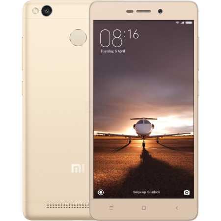 Xiaomi Redmi 3S 16Gb Золотой