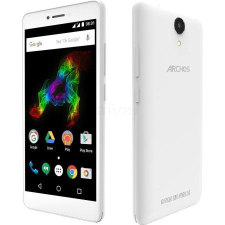ARCHOS 50 Platinum 8Гб, Белый, Dual SIM, 4G (LTE), 3G