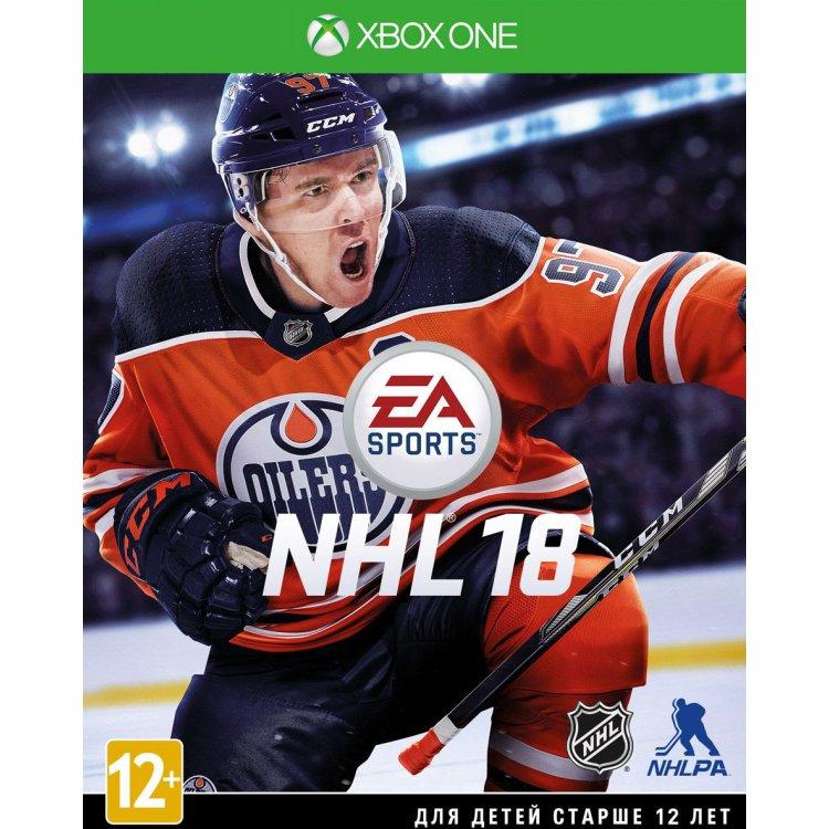 NHL 18 Xbox One, стандартное издание, Английский язык