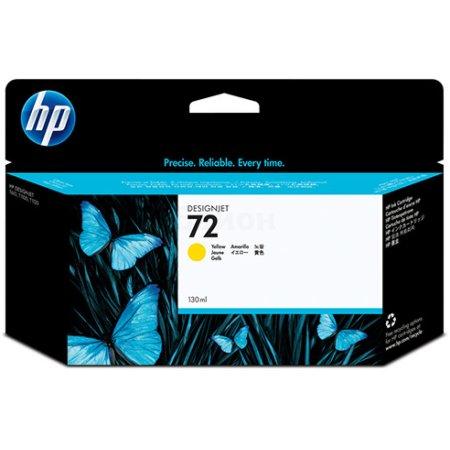 HP 72 Желтый, Тонер-картридж, Стандартная, нет