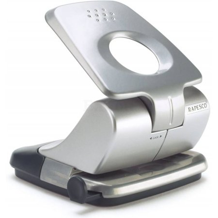 Дырокол Rapesco ZERO-30 0726 макс.:30лист. металл серый