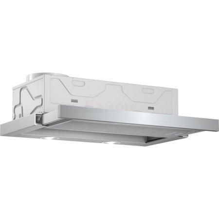 Bosch DFM064W51 59.8см, Серебристый, Встраиваемая, 400куб.м/ч