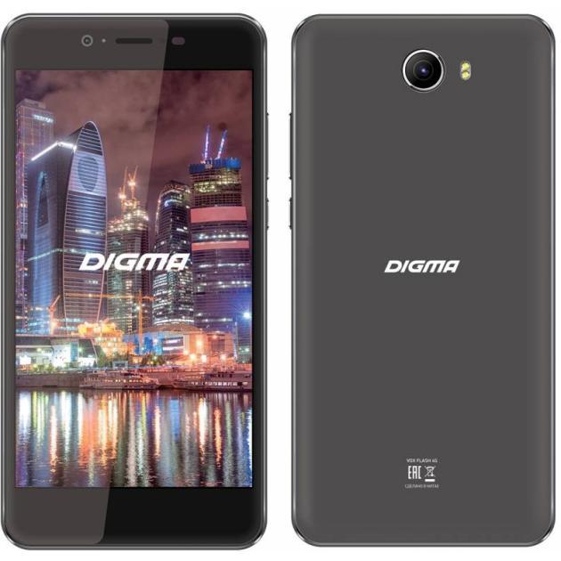 Digma VOX Flash 4G Черный