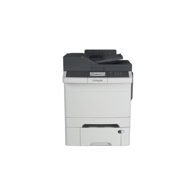 Lexmark CX410dte Лазерный \ светодиодный, Белый, Цветная, А4 28D0616
