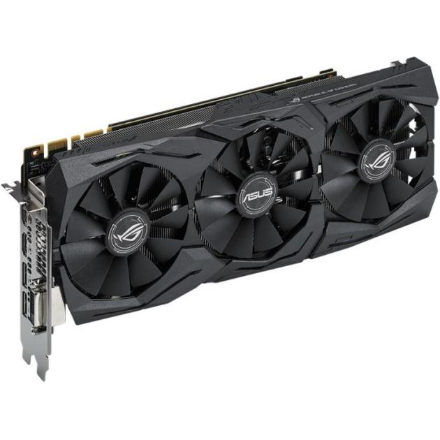 Asus NVIDIA GeForce GTX 1080 STRIX GAMING 8192Мб, GDDR5,1607MHz, STRIX-GTX1080-8G-GAMING от Байон