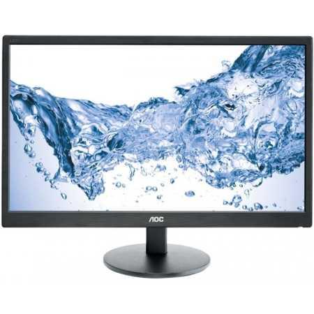 "AOC E2470SWH 23,6"" Черный, DVI, HDMI, 1920x1080"