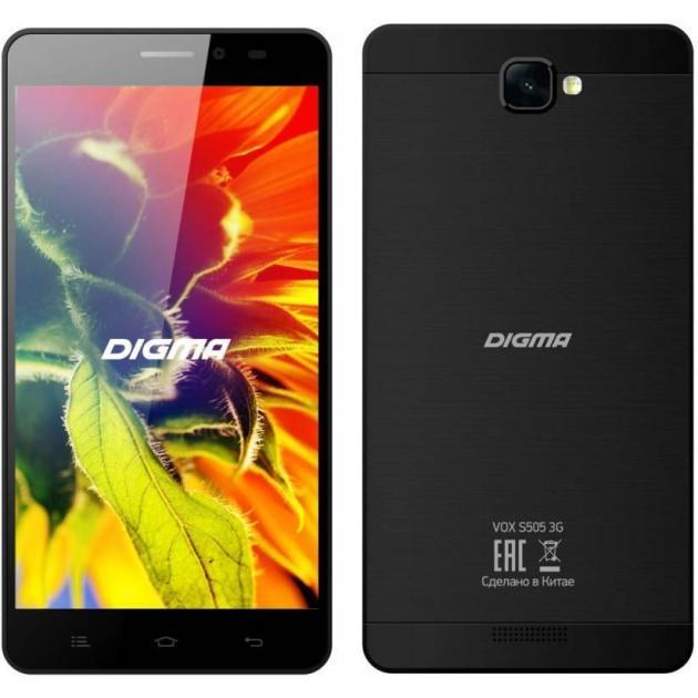 Digma Vox S505 3G черный