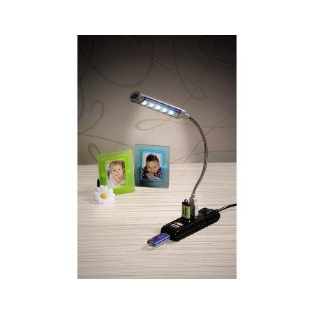 Разветвитель USB 2.0 Hama Switch 4порт. черный 00054590