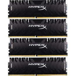 Kingston HyperX Predator HX433C16PB3K4/32 DDR4, 4, 32Гб, PC-26600, 3333МГц, DIMM