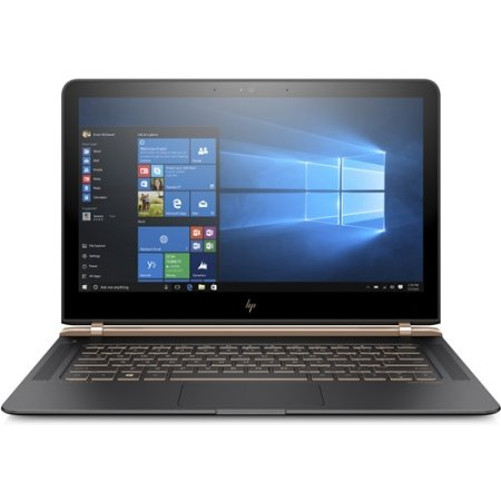 "HP Spectre Pro 13 G1 X2F00EA 13.3"", Intel Core i7, 2500МГц, 8Гб RAM, DVD нет, 512Гб, Черный, Wi-Fi, Windows 10 Pro, Bluetooth"