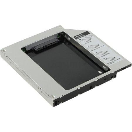 "Mobile Rack AgeStar ISMR2S, для замены привода в ноутбуке на 2,5"", IDE, black"