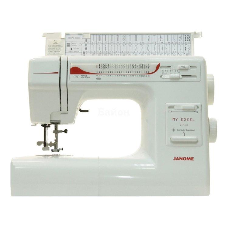 Купить Janome My Excel W23U в интернет магазине бытовой техники и электроники