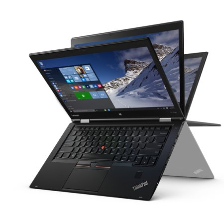 "Lenovo ThinkPad X1 Yoga 20FQS00Y00 14"", Intel Core i5, 2300МГц, 8Гб RAM, DVD нет, 256Гб, Черный, Wi-Fi, Windows 10, Bluetooth"