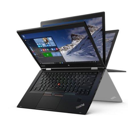 """Lenovo ThinkPad X1 Yoga 20FQS00Y00 14"""", Intel Core i5, 2300МГц, 8Гб RAM, DVD нет, 256Гб, Черный, Wi-Fi, Windows 10, Bluetooth"""