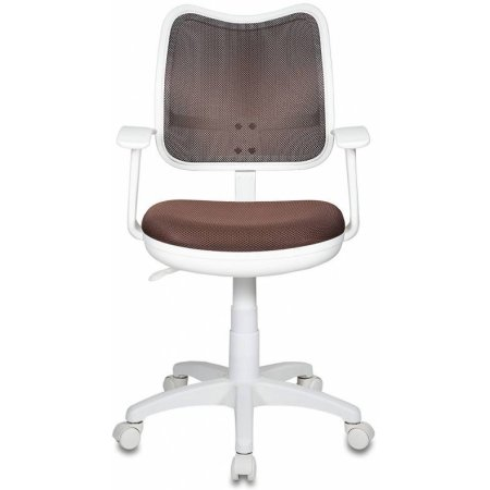Кресло Бюрократ CH-W797/BR/TW-14C спинка сетка коричневый сиденье коричневый TW-14C пластик белый