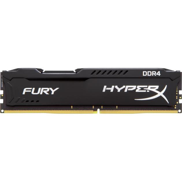 Kingston HyperX Fury HX426C16FB2/8 DDR4, 8Гб, PC4-21300, 2666, DIMM