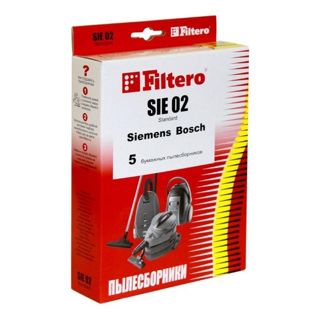 Пылесборники Filtero SIE 02 Standard двухслойные
